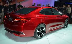 2015 Acura TLX unveiling