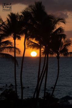 Sunset on Maui can be yours! Scenic Photography - Tad Craig Photography #hawaii #sunset
