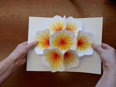 How to Make A Bouquet Flower Pop-up Card - YouTube