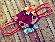 Fox Headband. In love!