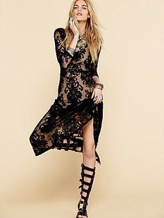 Free People San Marcos Maxi Dress
