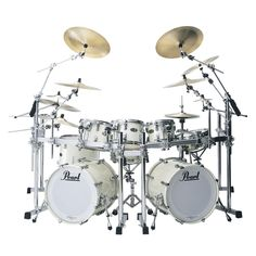 Pearl ,double set. White is pretty and professional looking. Sweet.
