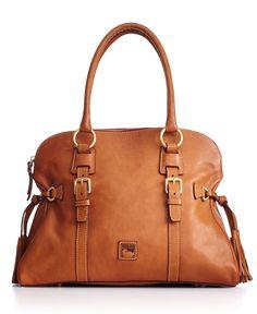Dooney & Bourke Handbag, Florentine Domed Buckle Satchel - Handbags & Accessories - Macy's