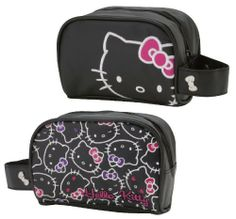 Hello Kitty Black - Cosmetic Pouch by Hello Kitty. $19.99. Hello Kitty Black - Cosmetic Pouch
