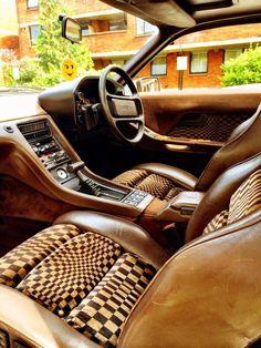Great retro Porsche interior.   #Car_Interior