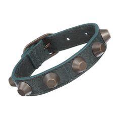 Rank & Style - Balenciaga Arena Classic All Stud Bracelet #rankandstyle