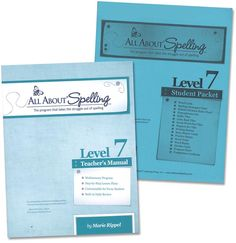 All About Spelling Level 7 Materials | Main photo (Cover)