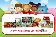 They're here!! Finally #DanielTiger's Neighborhood toys arrived at Toys R Us stores! http://www.pbs.org/parents/daniel/products/