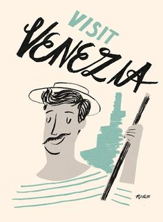 Nicholas John Frith.  #illustration #italy #venice