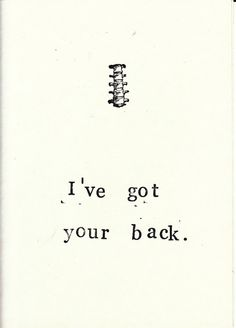 Got Your Back Card   Funny Skeleton Anatomy Science Medical Humor Gothic…