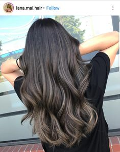 10 tintes de cabello para morenas que debes probar a los 30 - Mujer de 10 Brown Hair Balayage, Brown Blonde Hair, Hair Color Balayage, Brunette Hair, Hair Highlights, Ombre Hair, Ash Brown Highlights, Brown With Lowlights, Asian Brown Hair