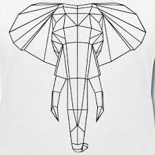 Resultado de imagen de geometrische tiere hirsch