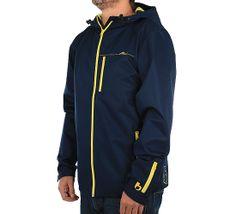 Bleed Organic Clothing - Non Toxic Jacket dark blue / yellow