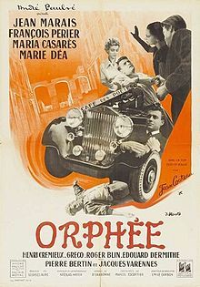 Orpheus (French: Orphée) is a 1950 French film directed by Jean Cocteau, starring Jean Marais. A central part of Cocteau's Orphic Trilogy (The Criterion Collection): The Blood of a Poet (1930), Orpheus (1950), and Testament of Orpheus (1960).