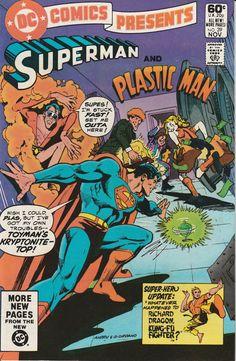 DC Comics Presents Vol. 4 No. 39  1981  Superman and Plastic Man by TheSamAntics