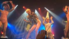 Miley Cyrus Live @ Heaven Nightclub - We Can't Stop