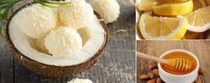 Suaves bombones de coco y limón | La Bioguía