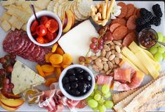 Creating the perfect charcuterie board is easier than you think with these simple tips! Samosas, Empanadas, Charcuterie Recipes, Antipasto Recipes, Charcuterie Board, Recipes Appetizers And Snacks, Appetizers For Party, Snack Recipes, Gf Recipes