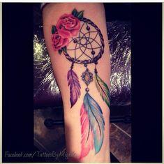 tribal dreamcatcher tattoo designs - Google Search