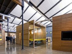 Lance Armstrong Foundation Headquarters, #LEED Gold in Austin, TX, designed by @LakeFlato Architects and The Bommarito Group
