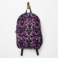 Heart Patterns, Tangled, Different Styles, Fashion Backpack, Clutches, Shells, Hearts, Backpacks, Art Prints