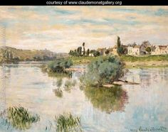 La Seine à Lavacourt (The Seine at Lavacourt) - Claude Monet, 1878 Portland Museum of Art, Maine. http://www.portlandmuseum.org/exhibitions-collections/search.php?searchby=All+Fields&term=Monet&Submit.x=-568&Submit.y=-387&Submit=Search