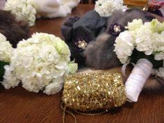 wedding day glitz :)
