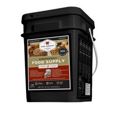 Wise Company 60-Serving Entree-Only Grab-and-Go Bucket-01-160 - The Home Depot