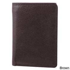 Bugatti Men's Trifold Travel Wallet