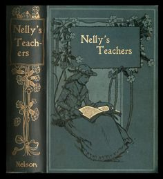 attractive art nouveau influenced book covers with gold highlights c1900