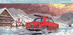 La Alfa Romeo Giulietta Sprint de Lefranc par Jacques Martin