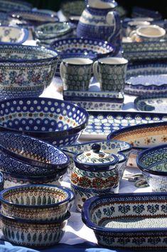 Boleslawiec wonderland, polish pottery factory