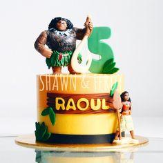 Image result for maui moana birthday cakes