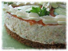 Hyydytetty lohivoileipäkakku | Reseptit | Kinuskikissa