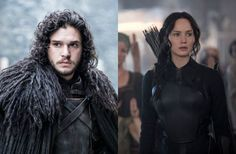 ¿Katniss Everdeen contra Jon Snow? Mira este curioso mashup de The Hunger Games y Game of Thrones