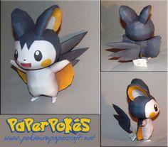 paperpokes | PaperPokés - Pokémon Papercrafts: EMOLGA (HAPPY BIRTHDAY PMF!)