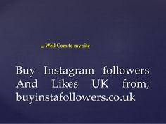Impotence of Buy Instagram Followers Grow Your business
