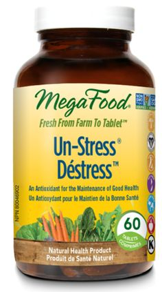 MegaFood Un-Stress  $46.99 - from Well.ca
