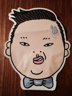 Flower Men Energy Factor Moist Boosting Sheet Mask - Hyaluronic Acid - Psy's Face!