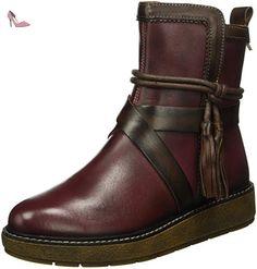 Pikolinos  BARCELONA W2H_I16, Bottines non doublées femme - Rouge - Rot (GARNET), 36 - Chaussures pikolinos (*Partner-Link)