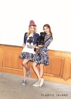Bora and Hyorin - Sistar