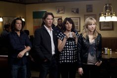 Aldis Hodge, Christian Kane, and Beth Riesgraf in Leverage (2008)