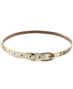 Fashion Gold Bead Belt - Sheinside.com