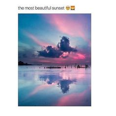 Ase so beautiful, I like the pink sea Sorry, I do not speak English😳 All Nature, Amazing Nature, Amazing Art, Awesome, Beautiful Sky, Beautiful Landscapes, Beautiful World, Pretty Pictures, Cool Photos