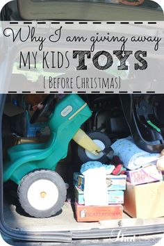 I have to be honest - I am SO sick of clutter and overabundance! This year for Christmas we chose to give away our kids toys and give them 3 meaningful gifts for Christmas. We are more about value this year instead of abundance. Are you ready to simplify this year? Click here to see.