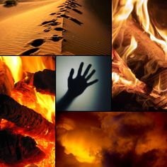 The main themes of Sand Dancer!