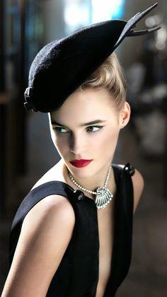 High fashion makeup.