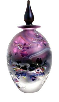 http://www.jhstudioglass.com/Crystal-Cased-Cameo/Crystal-Cased-Perfume-Bottle-Amethyst