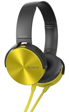 SONY MDR-XB450 (Yellow) (October 2014)