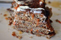 Carrot Cake Pancakes  #justeatrealfood #eatthecookie